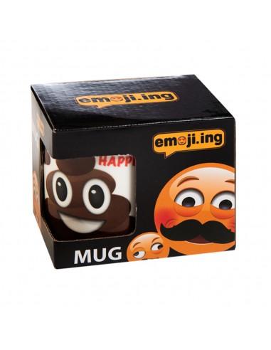 Πορσελάνινη Κούπα Emoji Poo 11oz
