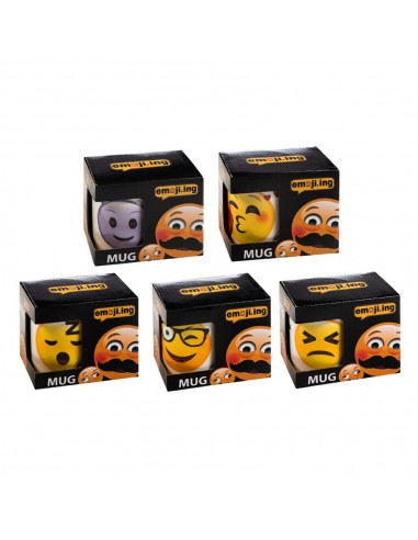 Πορσελάνικη Κούπα Emoji 5 σχ. 11 oz