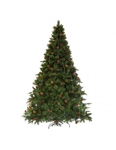 Δέντρο Virginia PVC&PE με Κουκουνάρια...